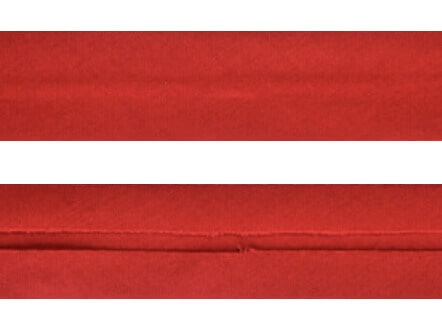 25mm Single Folded Red Bias Binding