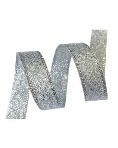 10mm Metallic Ribbon - Silver