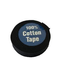 Cotton Tape - 12mm Black