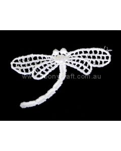 Lace Motif 1315 - Ivory  (Dragonfly)
