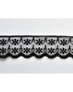 Raschel Lace KTR 133F (Black)