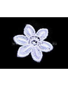 Lace Motif 1348 - White