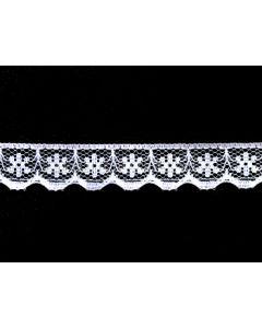 Raschel Lace KTR 134F (White)