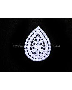 Lace Motif 1351 - White