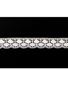 Raschel Lace KTR 160-01 (White)