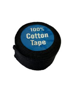 Cotton Tape - 25mm Black