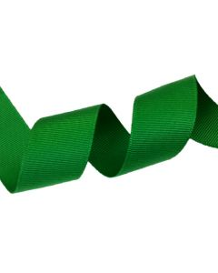 25mm Grosgrain Emerald Green Ribbon (580)