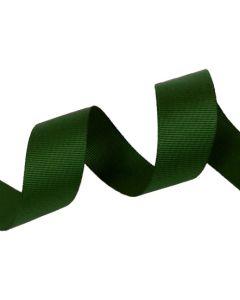 25mm Grosgrain Forest Green Ribbon (587)