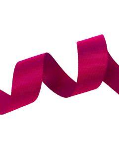 25mm Grosgrain Shocking Pink Ribbon (175)