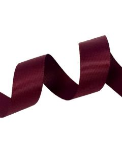 25mm Grosgrain Wine Ribbon (275)