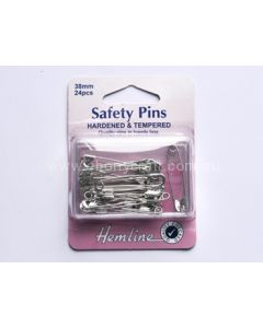 Hemline 38mm Safety Pins (C)