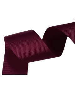 38mm Grosgrain Wine Ribbon (275)