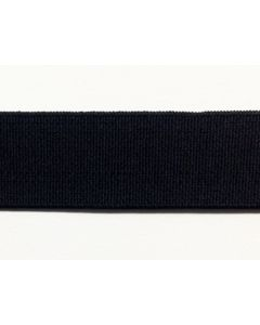 38mm High Density Elastic - Black (Non Roll)