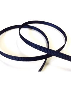 3mm Grosgrain Navy Ribbon (370)