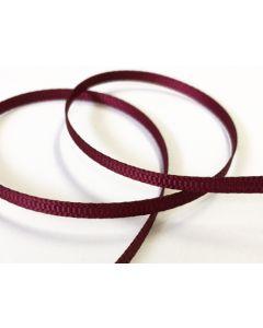 3mm Grosgrain Wine Ribbon (275)