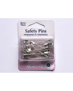 Hemline 46mm Safety Pins (C)