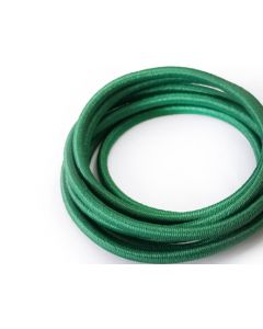 4mm Elastic Cord - Emerald Green