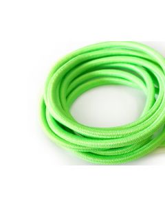 4mm Elastic Cord - Fluro Green