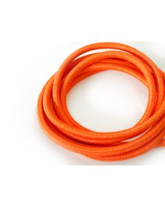 4mm Elastic Cord - Fluro Orange