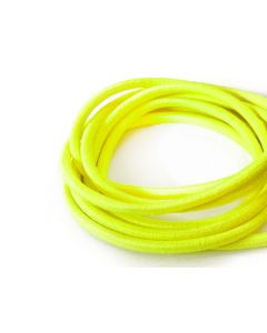 4mm Elastic Cord - Fluro Yellow