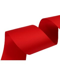 50mm Grosgrain Red Ribbon (250)