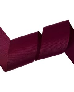 50mm Grosgrain Wine Ribbon (275)