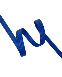 6mm Grosgrain Electric Blue Ribbon (352)