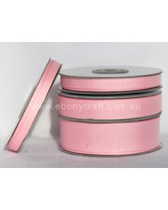 9mm Grosgrain Pearl Pink Ribbon (123)
