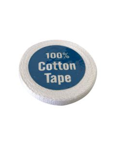 Cotton Tape - 6mm White