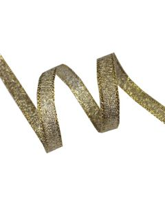 6mm Metallic Ribbon - Gold