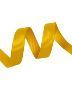 9mm Grosgrain Maize Ribbon (650)