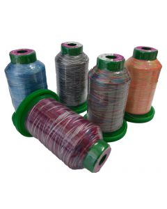 Bulk Buy Isacord Thread Multi (1000mt) $80.00 per 10 cobs