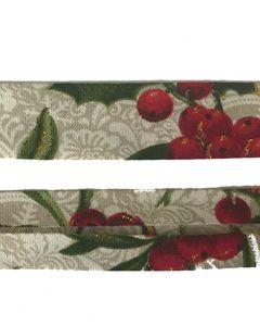 25mm SF Bias Binding - Berries