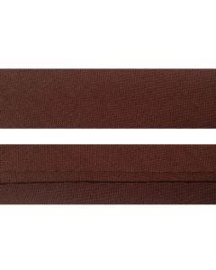 25mm Single Folded Brown Bias Binding