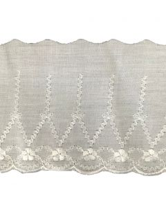 Broderie Anglaise Lace - CBL-17 (White)