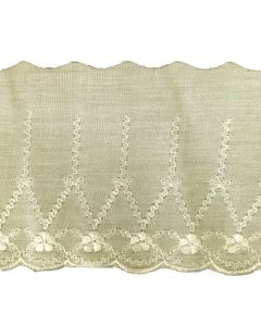 Broderie Anglaise Lace - CBL-17 (Cream)