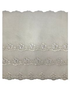 Broderie Anglaise Lace - CBL-55625 (Cream)
