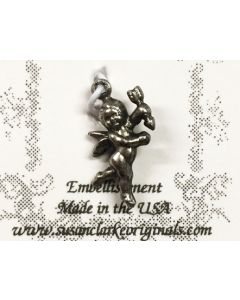 Cupid Charm (Pewter)