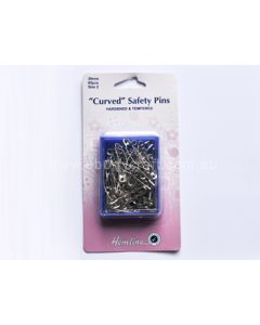 Hemline Curved Safety Pins (H)