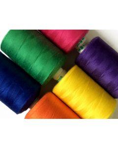 Bulk Buy 1000mt Polyester Thread $10 for 10 cobs