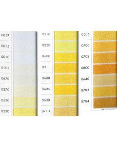 ISACORD 40 -White /Yellows (Row 1) 1000mt