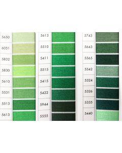 ISACORD 40 - Green (Row 11) 1000mt