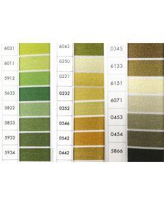 ISACORD 40 - Green/Mustard (Row 12) 1000mt