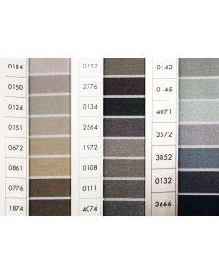 ISACORD 40 - Greys (Row 16) 1000mt