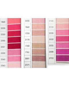 ISACORD 40 - Pinks (Row 4) 1000mt