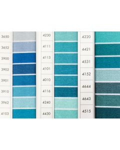 ISACORD 40 - Turquoise (Row 9) 1000mt