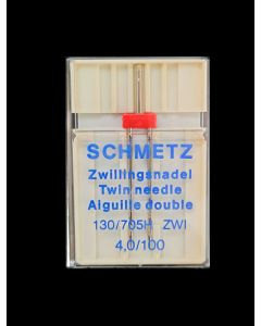 SCHMETZ Twin Embroidery needles - Size 4,0/100