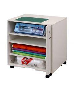 Horn Modular 3 Adjustable Shelf Cabinet - White