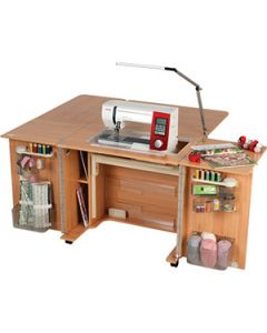 Horn Outback MKll cabinet with Extention Table  - Beech