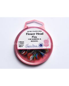 Hemline Flower Head Pins (K)
